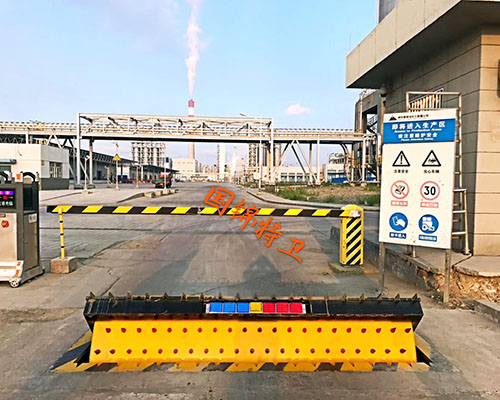 工厂路障机
